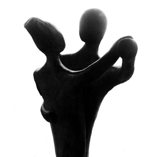 Tanzpaar-Skulptur
